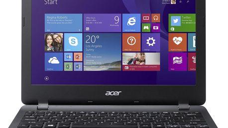 Mini notebook Acer Aspire E11, černý (NX.MRSEC.002)