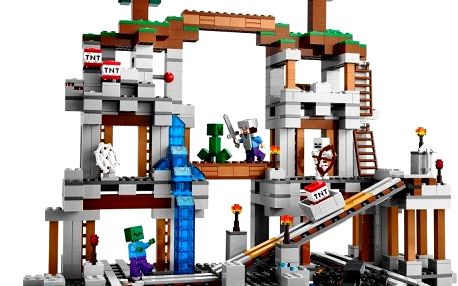 Důl Minecraft Lego 21118