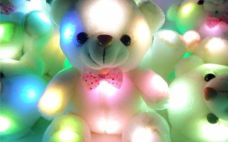Svítící plyšový medvídek