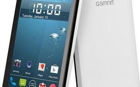 Mobilní telefon Gigabyte GSmart Rio R1, černo-bílý