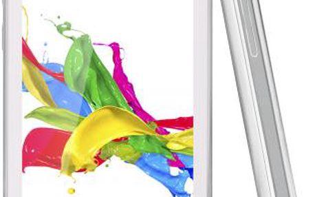 Mobilní telefon GoClever Quantum 400 Dual Sim, bílý