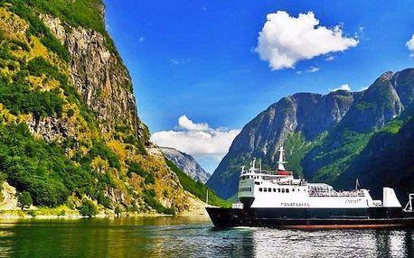5denní letecký zájezd za norskými fjordy