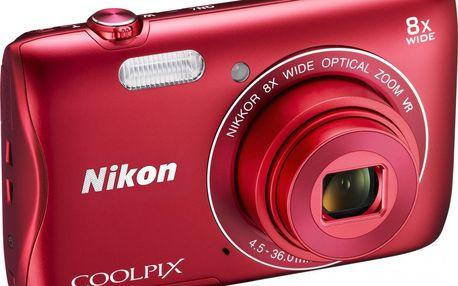 Fotoaparát Nikon Coolpix S3700