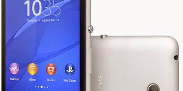 Sony Xperia E4 (E2105) (1293-0242) bílý + Doprava zdarma