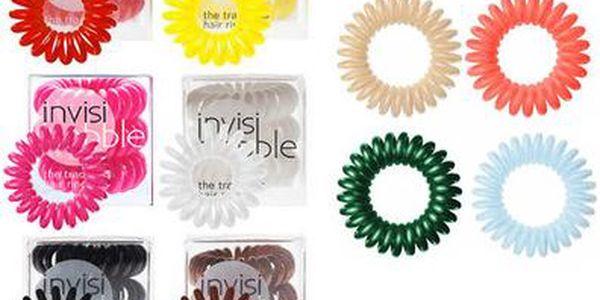 Invisibobble Hair Ring Gumičky do vlasů W Gumičky do vlasů - Odstín Clear