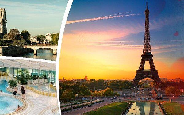 Nejromantičtější víkend 12.-14.2. se zájezdem do Paříže s prohlídkou města a všech památek.