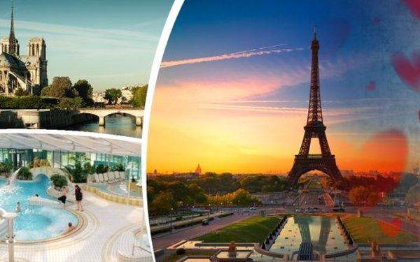 Nevšední oslava sv. Valentýna? Prožijte nejromantičtější víkend 12.-14.2.se zájezdem do Paříže s prohlídkou města a všech nejznámějších památek! K tomu zažijete i romantickouprojížďku po Seině a jako bonus při cestě zpátky své tělo odměníte relaxem v te