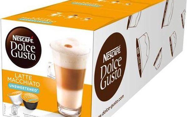 Nescafé Dolce Gusto Latté Macchiatto neslazené 3 balení