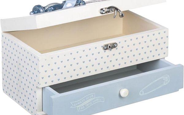 Krabička na šitíčko Sewing Box, 24x13 cm