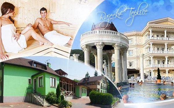 Rajecké Teplice! 3-7 dní pro dva s polopenzí, saunou a možností pobytu na Valentýna i jarní prázdniny!