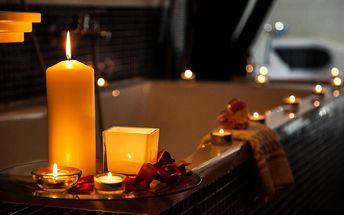 Exkluzivní romantický pobyt, nabitý wellness a balneo program