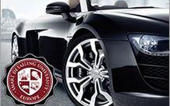 Základy detailingu ve SMART DETAILING UNIVERSITY. Naučte se důkladně čistit vaše auto.