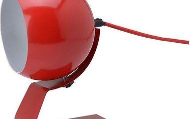 Stolní lampa Cameron, červená