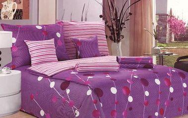 NOVIA Povlečení Comfort+, bavlna, 8 dílné, 140x200 70x90 40x40 20x40 220x230, Vzor PC01