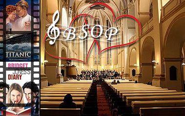 53% sleva na exkluzivní Valentýnský koncert hollywoodských romantických filmových melodií v kostele U Salvátora. Pouze 30 vstupenek!