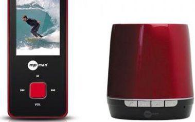 Multimediální přehrávač MPman BT 18, 4GB + Bluetooth reproduktor (BT 18 4GB SP)