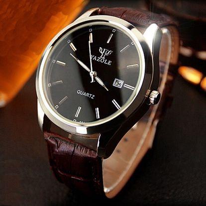 Pánské hodinky v luxusním provedení - čtyři varianty