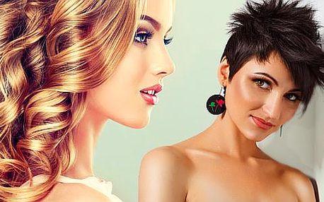 Kadeřnické péče pro dámy - střih, barva, melír či trvalá