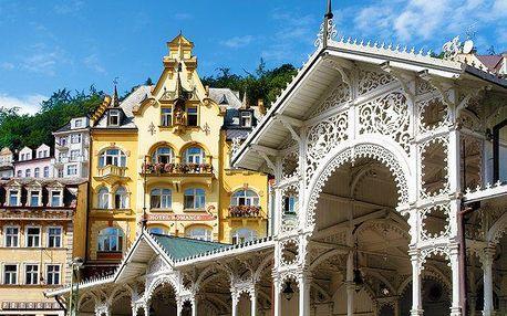 3–5denní pobyt v hotelu Jizera v Karlových Varech pro 1 nebo 2 osoby