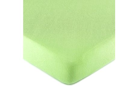 4Home jersey prostěradlo zelená, 160 x 200 cm