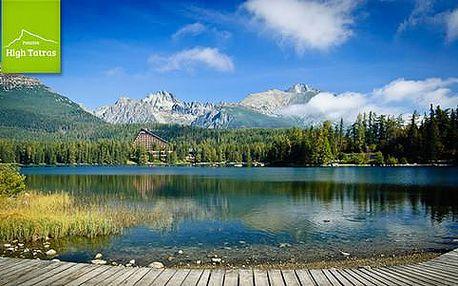 Aktivní relax ve Vysokých Tatrách pro 2 osoby