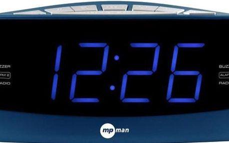 Rádiobudík MpMan FRA 252, modrý
