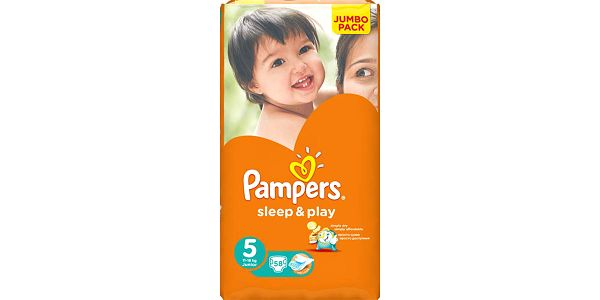 PAMPERS Sleep&Play 5 JUNIOR (11-18kg) 2x58 (116ks) JUMBO PACK - jednorázové pleny