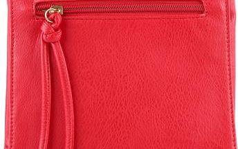 Červená kabelka 16130R UNI