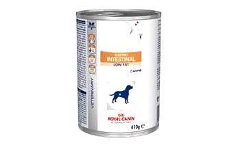 Royal Canin VD Canine Gastro Intest Low Fat 410g kon