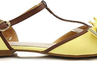 Sandálky s mašličkou 9519YE 38