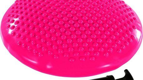 Balanční polštář na sezení MOVIT 37 cm, růžový