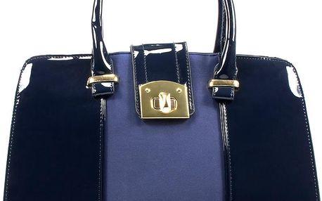 Modrá business kabelka 1802BL UNI