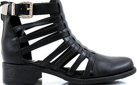 Dámské kotníkové boty 13-38B 41