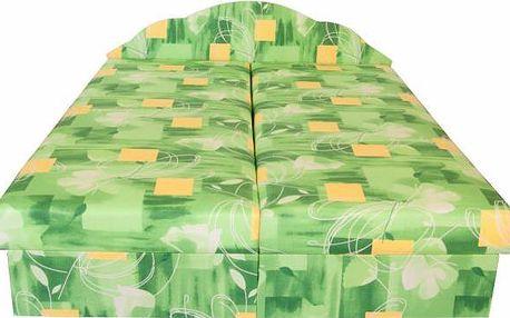 Čalouněná postel s úložným prostorem Miriana