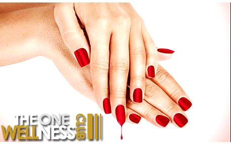 54% sleva na základní manikúru, lakování a lehkou masáž rukou