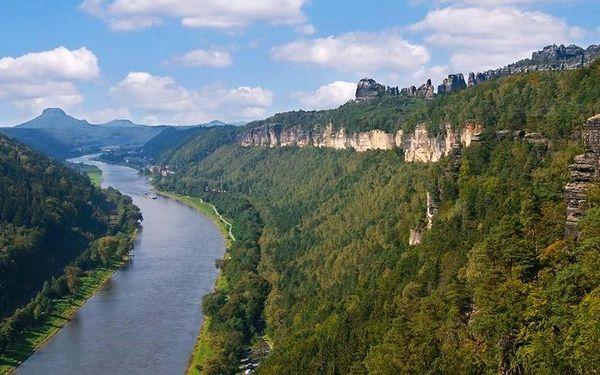 Výlet vlakem do saského Bad Schandau