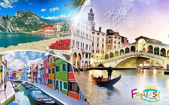 Poznávací 5denní okruh Itálií: Benátky, Verona, Lago di Garda pro 1 osobu! 2 noci v hotelu, snídaně a doprava!