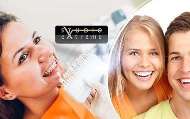 30min. bezperoxidové ordinační bělení zubů laserem pro zářivý úsměv bez bolesti!