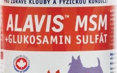 Alavis MSM+Glukosamin sulfát pro psy 60tbl + Doprava zdarma