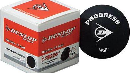 Squash míček Dunlop PROGRESS + Doprava zdarma