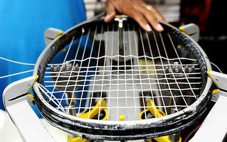 EXPRESNÍ vyplétání raket na počkání! Tenis, squash, badminton