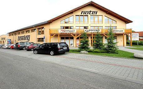 Sport Hotelu Benešov do konce května - 3 dny pro 2 s polopenzí, fitness a sportem