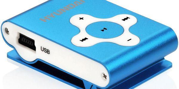 MP3 přehrávač Hyundai MP 212, modrý