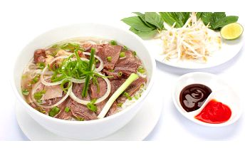 4chodové asijské menu v restauraci Lan