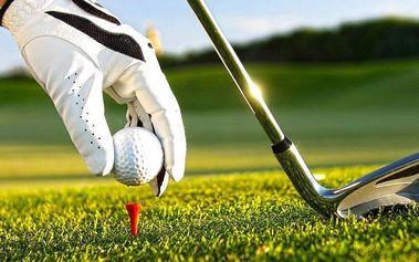 Seznámení s golfem: 2hodinová lekce s trenérem + opravdová hra