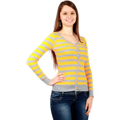 Tričko na knoflíčky oranžová