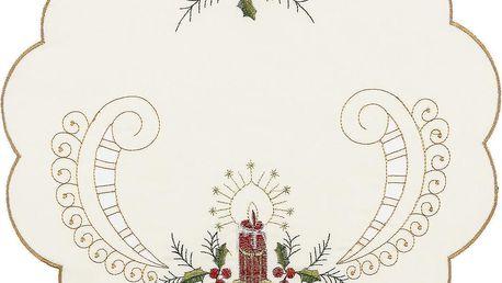 Jahu Vánoční prostírání Cesmína, pr. 35 cm