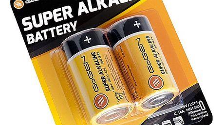 Baterie alkalická GoGEN C, LR14, blistr 2ks (GOGR14ALKALINE2)