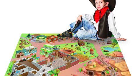 House of Kids Hrací podložka Western,100x150 cm