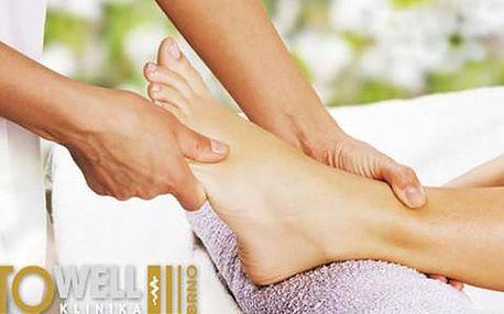 75% sleva na 30minutovou reflexní masáž chodidel v estetickém centru To well